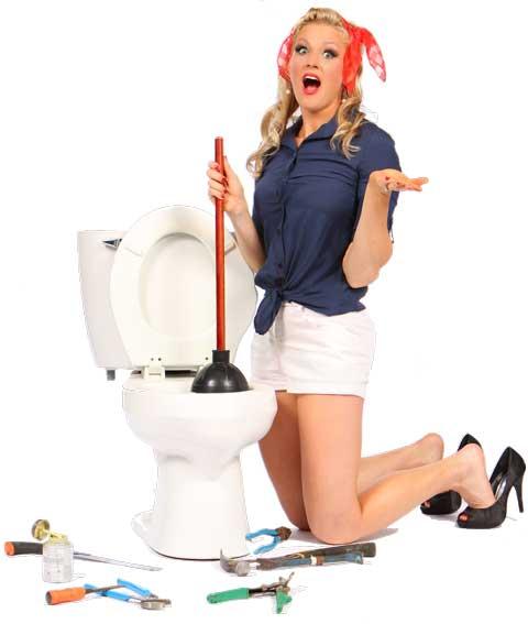 Blocked toilet arya plumbing gas